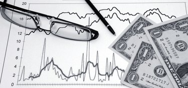 Image of Financial Analysis and Glasses